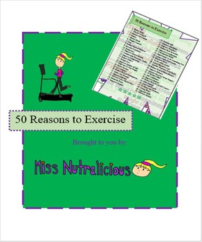 Nutrition: 50 Reasons to Exercise