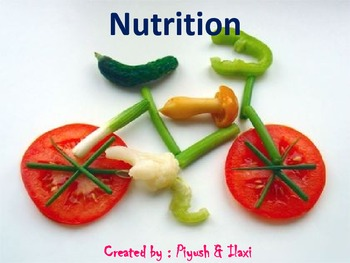 """Importance of """"Nutrition"""" in food"""