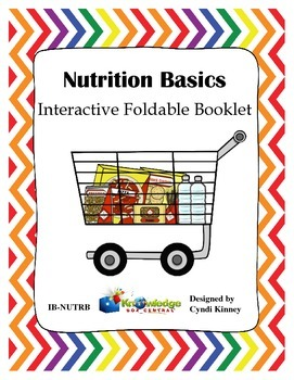 Nutrition Basics Interactive Foldable Booklet