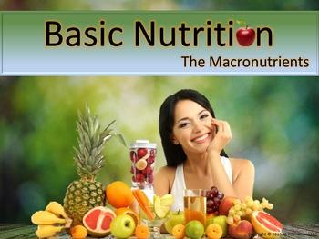 Nutrition Basics: Macronutrients