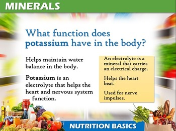Nutrition Basics: Vitamins and Minerals
