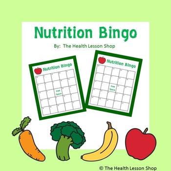 Nutrition Bingo