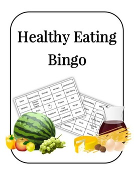 Healthy Eating Bingo