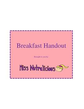 Nutrition: Breakfast