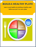 """Nutrition-""""Build A Healthy Plate""""- lesson, 3 activities"""