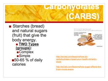 Nutrition Bundle 6-7 Grade