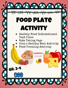 Nutrition Bundle- Food Plate, Cereal Nutrition, Sugar in Drinks