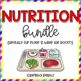 Nutrition Bundle (Healthy Flip Plate & Nutrition Write the Room)