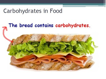 Nutrition - Carbohydrates w/worksheet (SMART BOARD)
