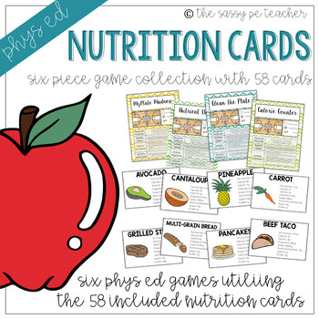 Nutrition Card Games Collection