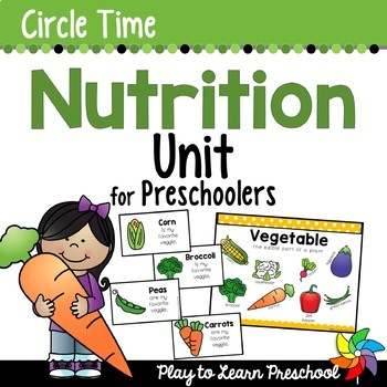 Nutrition Preschool Unit