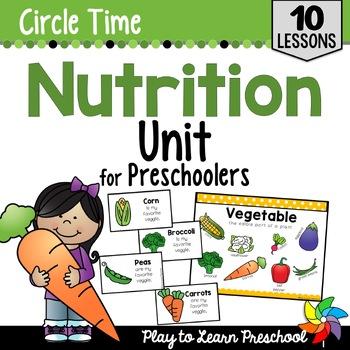 Nutrition Circle Time Unit