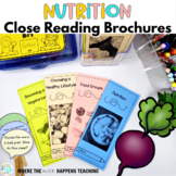 Nutrition Close Reading Passages with Questions