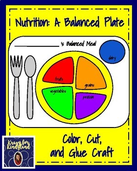 Nutrition Craft Pack: A Balanced Plate, Fruit, Vegetables