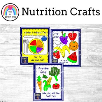 Nutrition Craft Pack: A Balanced Plate, Fruit, Vegetables (Plants)