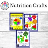 Plant Parts, Nutrition Craft Bundle with a Balanced Plate, Fruits, Vegetables