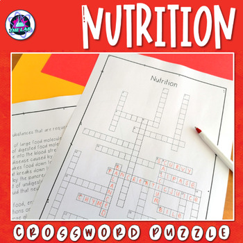 Nutrition Crossword