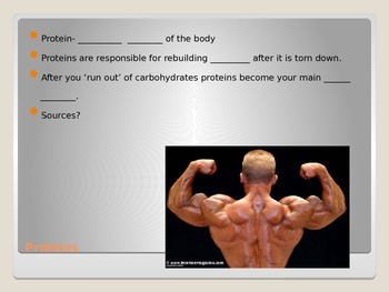 Nutrition & Diabetes PowerPoint