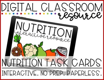 Nutrition Digital Activity FREEBIE