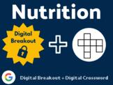 Nutrition Digital Bundle (Digital Breakout, Digital Crossword)