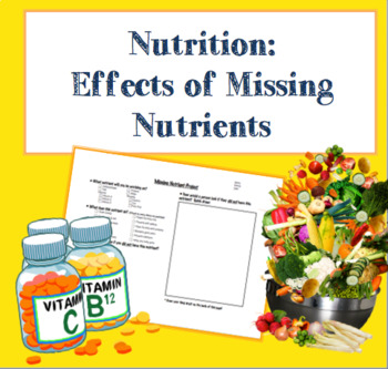 Nutrition - Effects of Missing Nutrients