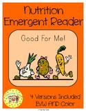 Nutrition Emergent Reader