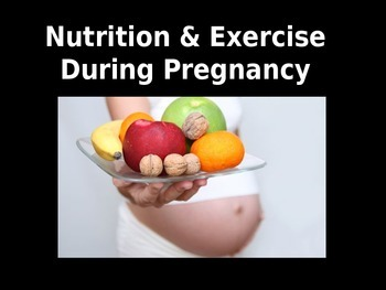 Nutrition & Exercise Powerpoint