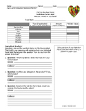 Nutrition Facts Food Label - Analysis Worksheet