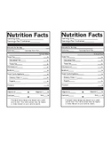 Nutrition Facts  Labels ( Fill in the blank)