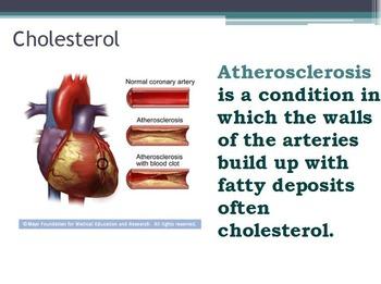 Nutrition - Fats w/worksheet (SMART BOARD)