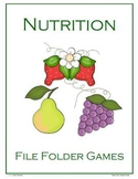 Nutrition File Folder Games