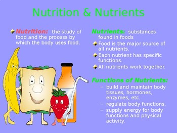 Nutrition & Fitness PPT