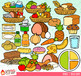 Nutrition Food Groups Clip Art