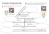 Nutrition (Food Pyramid And Food Groups) - INCLUDING FREE