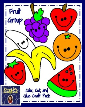 Fruit Group Craft Pack (Nutrition, Plants)