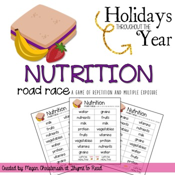 Nutrition Game