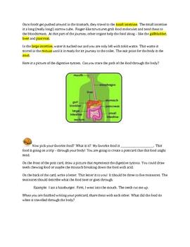 Nutrition Handout and Postcard Assessment
