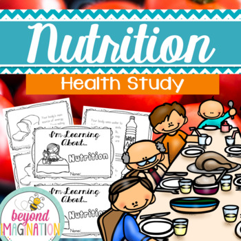 Nutrition Health Study | 44 Pages for Differentiated Learning + Bonus Pages