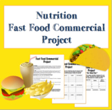 Nutrition - Healthy Fast Food Meal Commercial