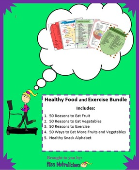 Nutrition: Healthy Food and Exercise Bundle