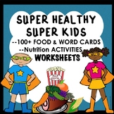 Pre-K Kinder Nutrition Healthy Foods Healthy Eating Activities Worksheets Games
