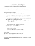 Nutrition Inequalities Project