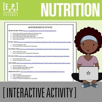 Nutrition Online Interactive Activities
