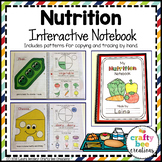 Nutrition Interactive Notebook | Healthy Eating Activities | Nutrition Crafts