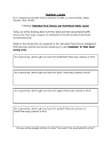Nutrition Label - Canadian Resource
