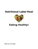 Nutrition Label Meal Plan