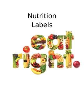 Nutrition Label Questionaire