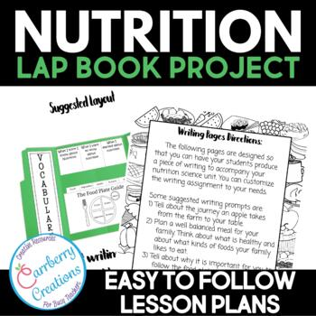 Food and Nutrition Unit Lapbook