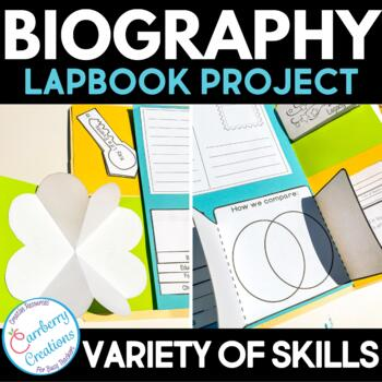 Biography  Report Lapbook and Mini-Books