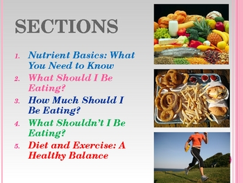 Nutrition: Maintaining a Healthy Diet and Lifestyle